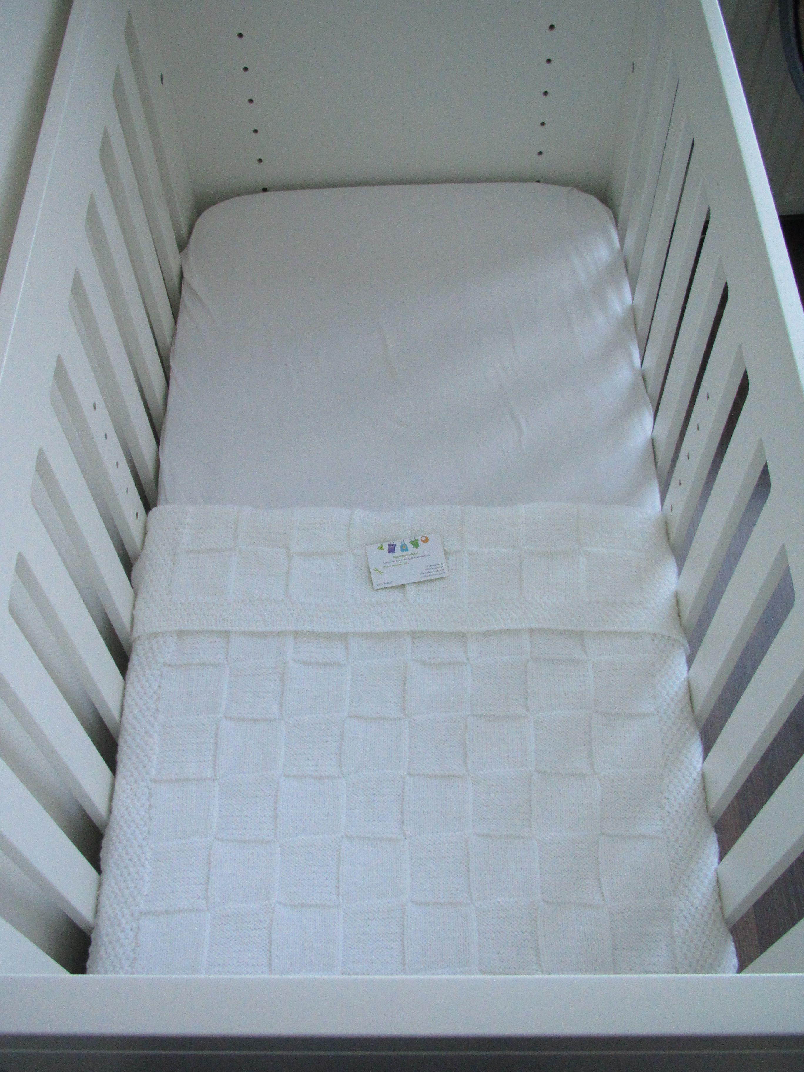 Witte Babydeken 100 Acryl Dingen Om Te Breien Pinterest