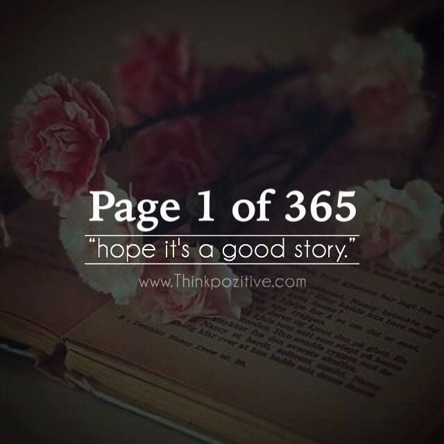 positive quotes page of hope its a good story ift tt