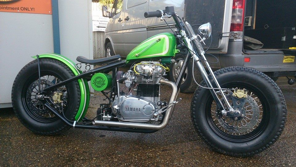 Micks Fenland Choppers Yamaha XS650 Bobber Full Build | Cars I want