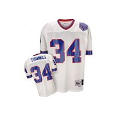 Discount Thurman Thomas 1990 White Jersey $19.99 This jersey belongs to  hot sale