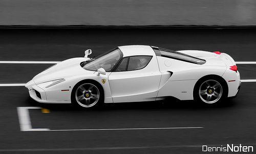 Very Rare All White Ferrari Enzo White Ferrari Ferrari Ferrari