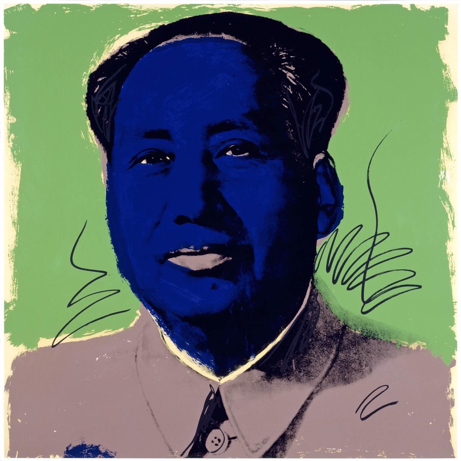 andy warhol - mao tse-tung (series) 2, 1972