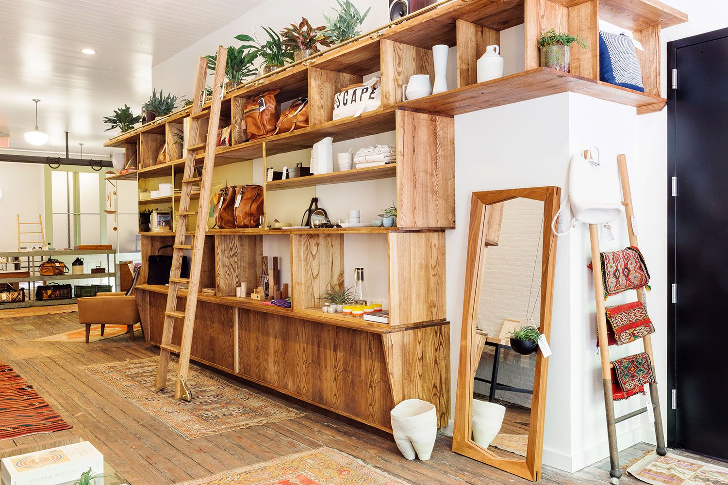 Village home interior design calliope a sanctuary for found objects and cool vibes  west