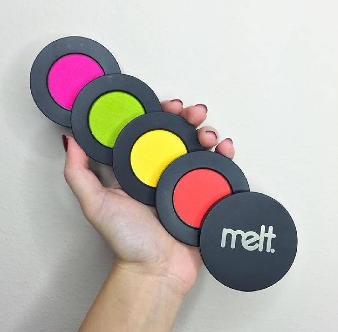 The Melt cosmetics Radioactive stack!