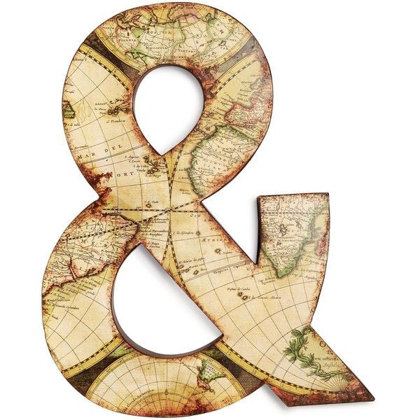 Ampersand Wall Decor graham & brown ampersand wall art found on polyvore featuring home