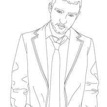 justin timberlake coloring page coloring page famous people coloring pages famous american people