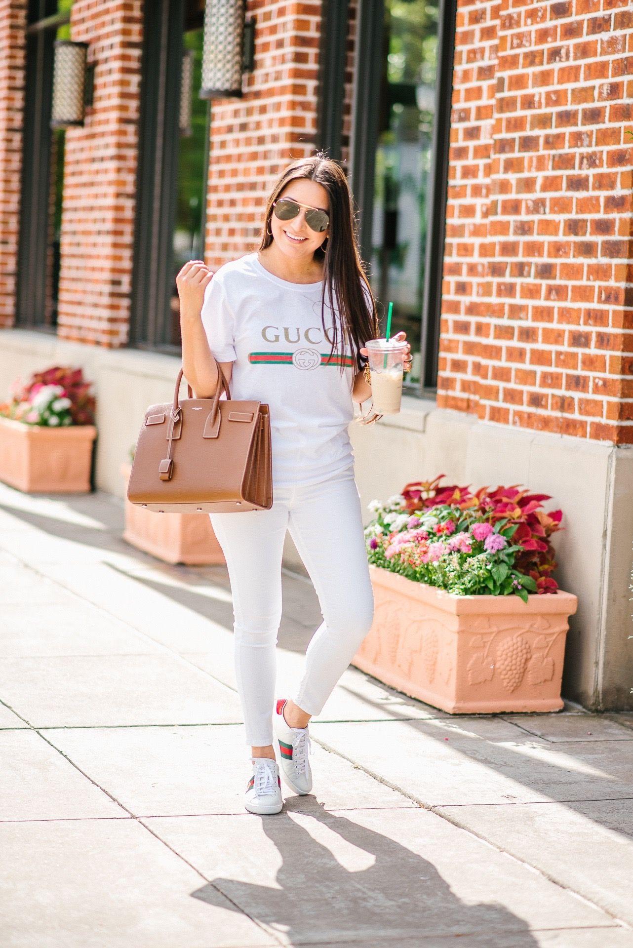 Gucci Tee + Gucci Sneakers | Tshirt