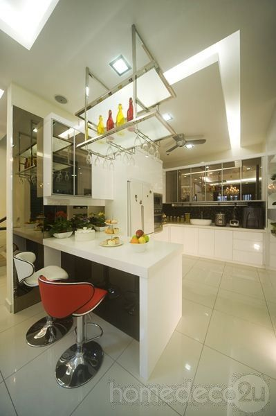Modern Contemporary Interior Design on 2 12 Storey House in Kepong