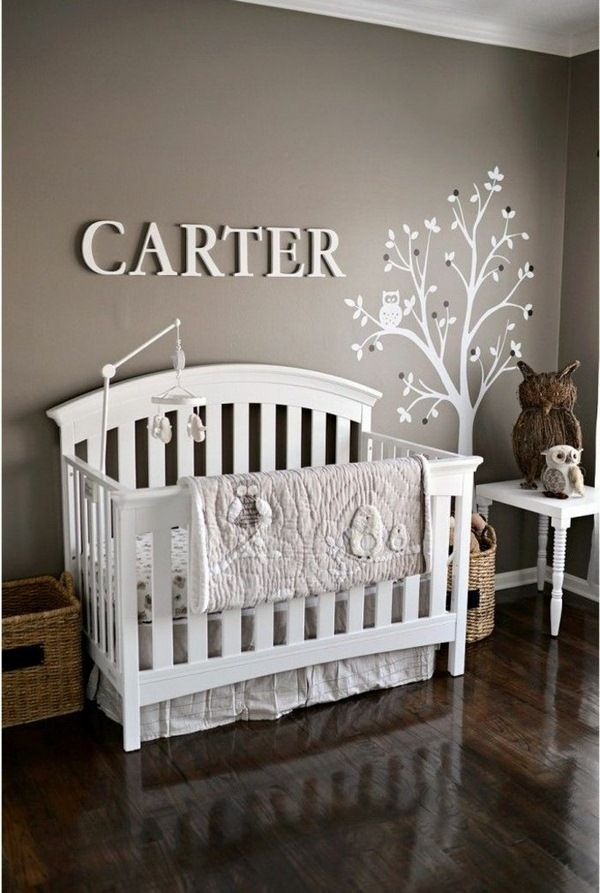 nursery wall paint taupe color nursery wall decoration | Taupe ...