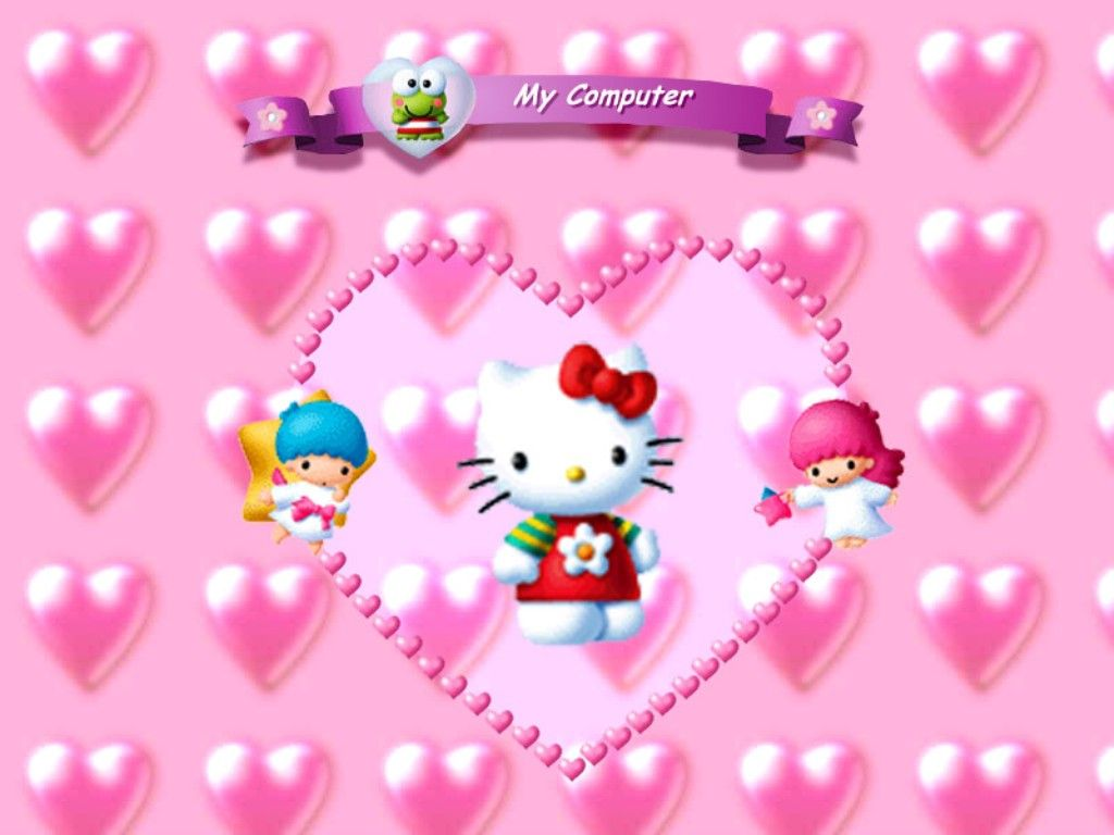 HD Wallpaper and background photos of Hello Kitty for fans of Hello Kitty  images.