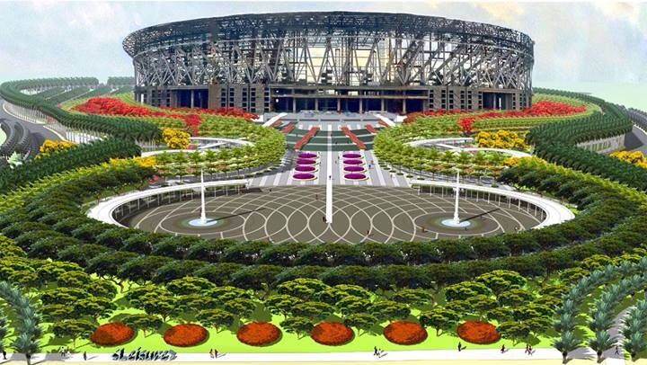 Largest indoor arena in the world bicaue bulacan for Filipino landscape architects