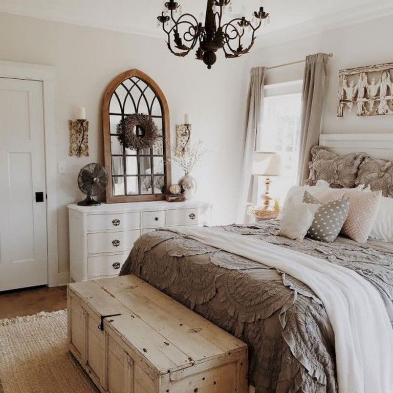 23 Marvelous Small Master Bedroom Ideas On A Budget Country Style Bedroom Shabby Chic Decor Bedroom Farmhouse Bedroom Decor