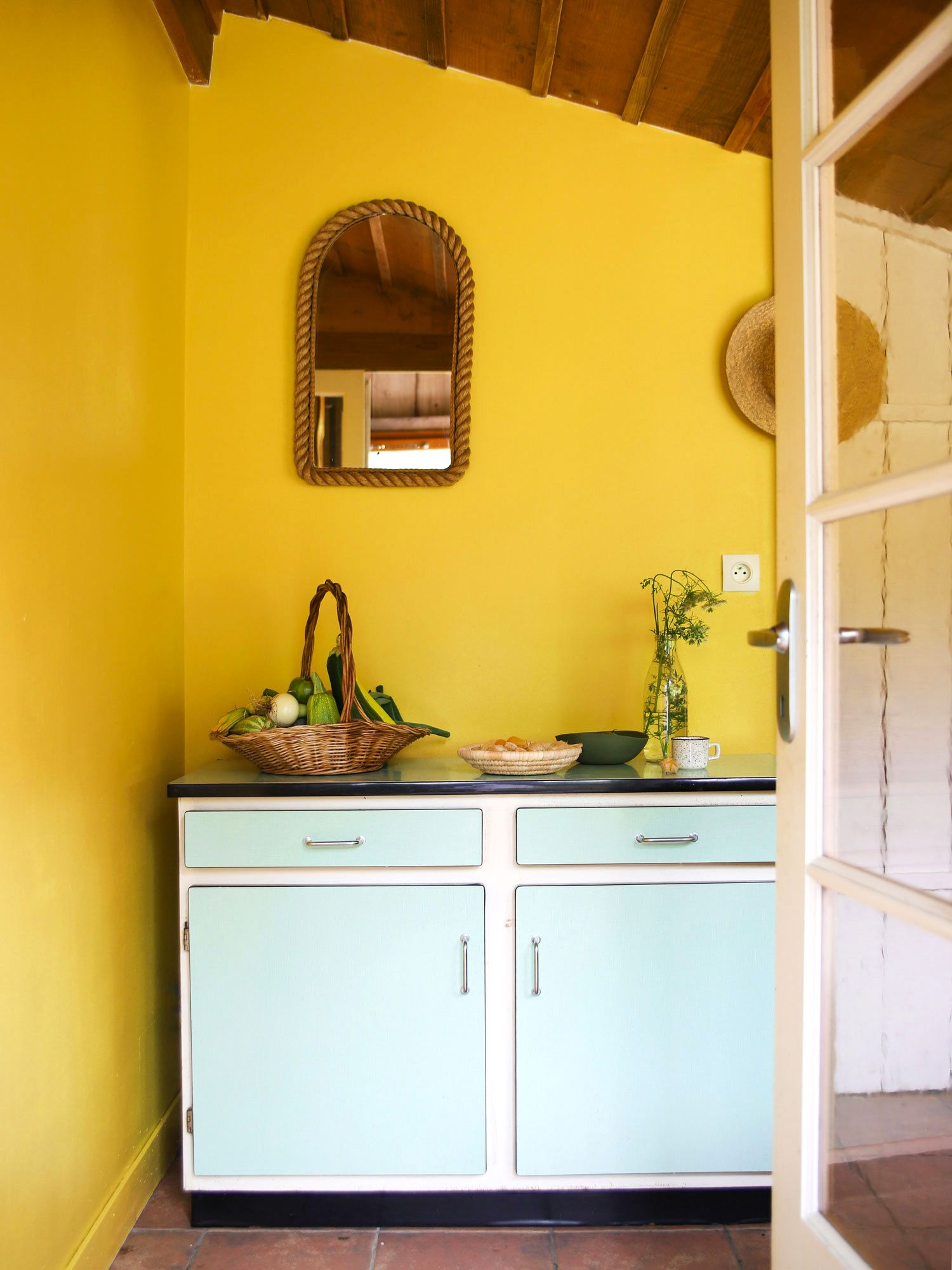Cuisine Jaune Printemps  Cuisine jaune, Organisation de petite