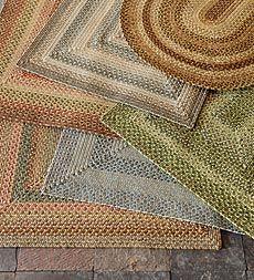 Indoor Outdoor Polypropylene Braided Rugs