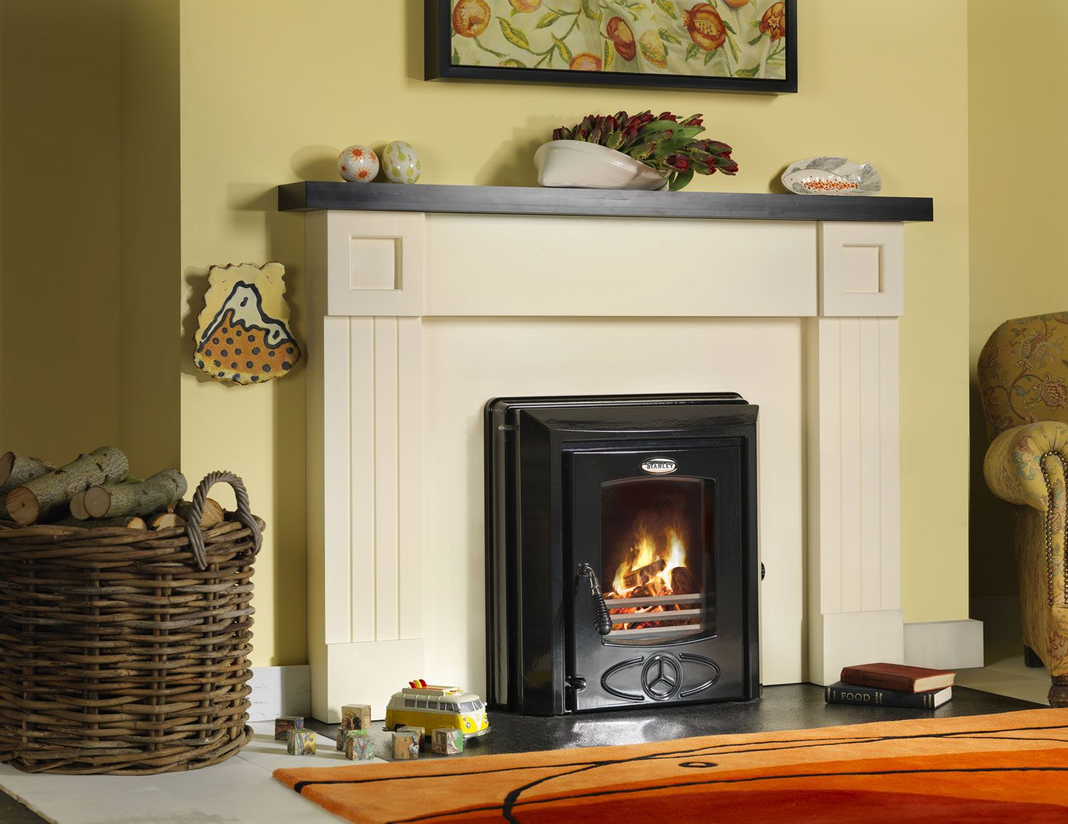 Replace Your Inefficient Back Boiler And Open Fire With A Powerful Home  Heating Solution. Using  Replace Fireplace Insert