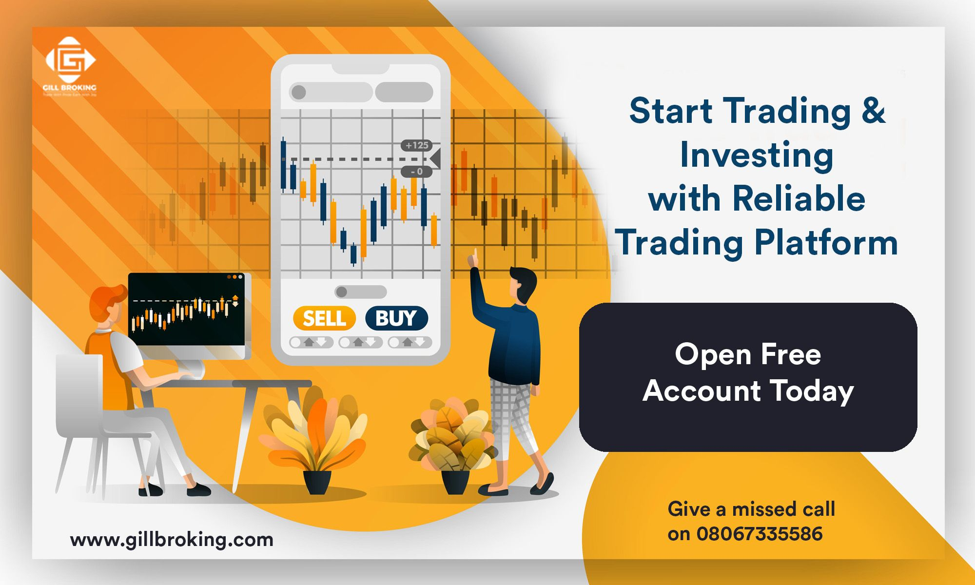Free Trading Account Gill Broking Commodity trading
