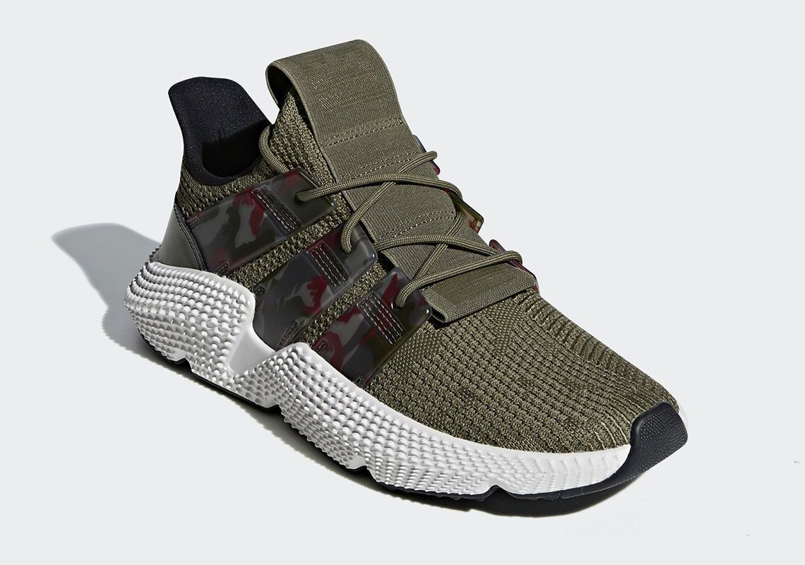 pretty nice a0fc5 ea164 The adidas Prophere Is Back With Camo-Print Stripes