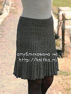 Юбка спицами. Более 30 схем вязания юбки спицами 11