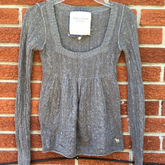 2e3258c9f101 Soft grey baby doll style sweater