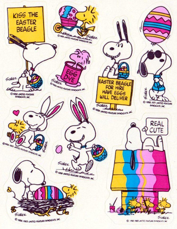 NEW Peanuts Snoopy Woodstock Charlie Brown Christmas 68 Acid Free Stickers