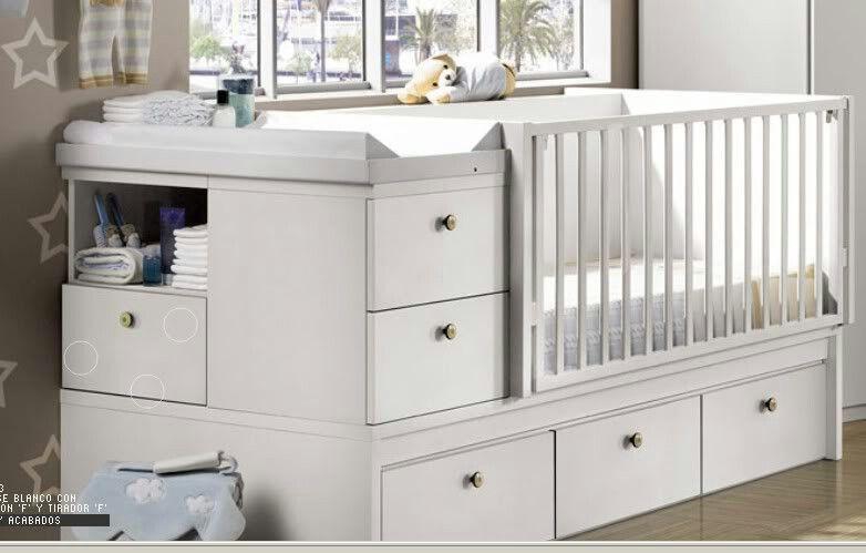 Cama cuna convertible   Nursery, cunas, moises   Pinterest   Babies ...