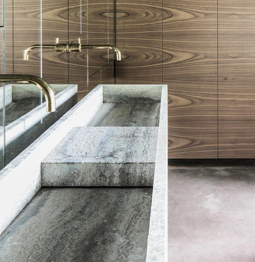 Raw Materials Travertin Finish Texture Hbfinish Agripa Hullebusch Naturalstone Authenticity Craf Amazing Bathrooms Bathroom Design Bathroom Inspiration
