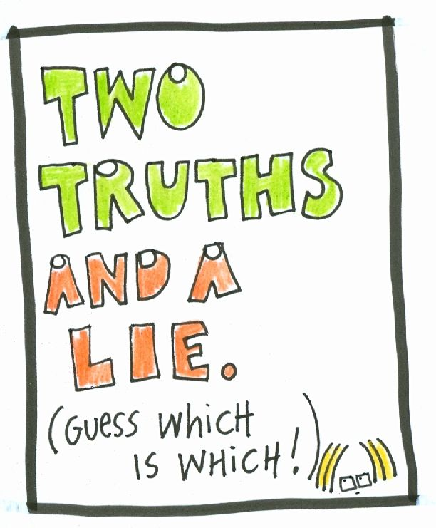 Image result for two truths and lie