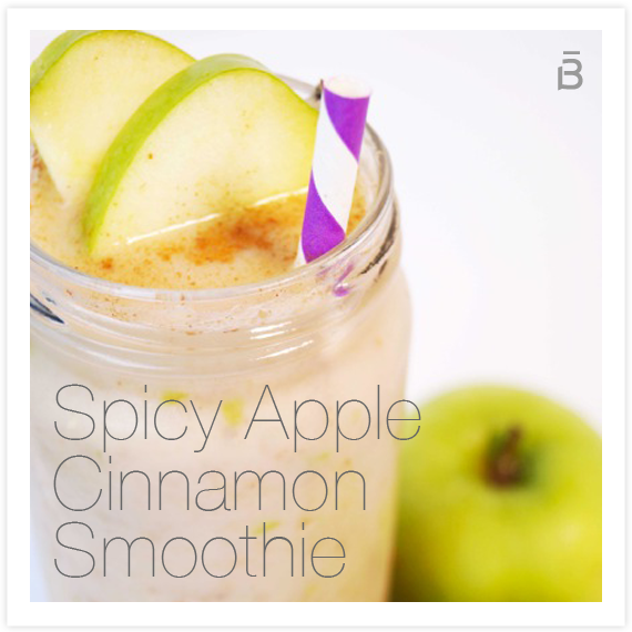 Photo of Spicy Apple Cinnamon Smoothie – barre3