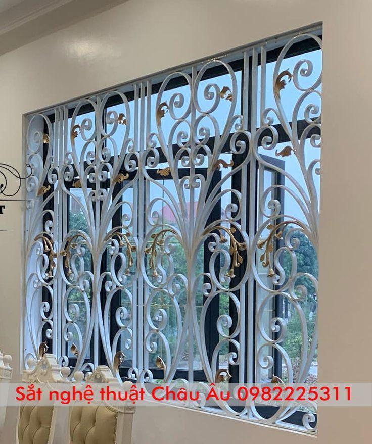 Villa Art Iron Flower Window Pattern 2021