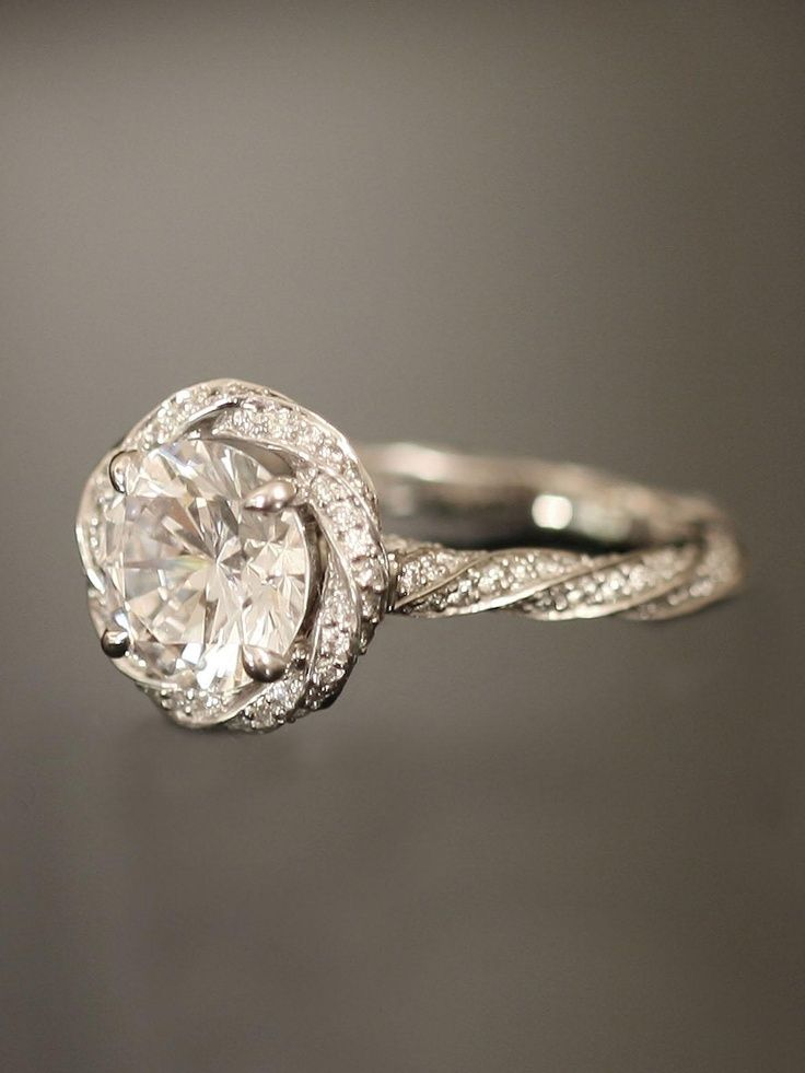 Rocks on rocks on rocks Engagement Ring Eye Candy Tiffany True