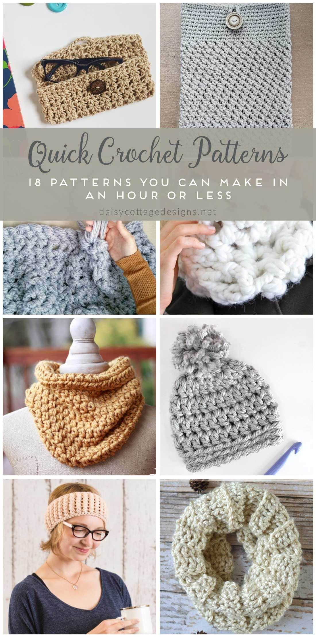 Easy Crochet Patterns - Free Crochet Patterns on | Fast crochet ...