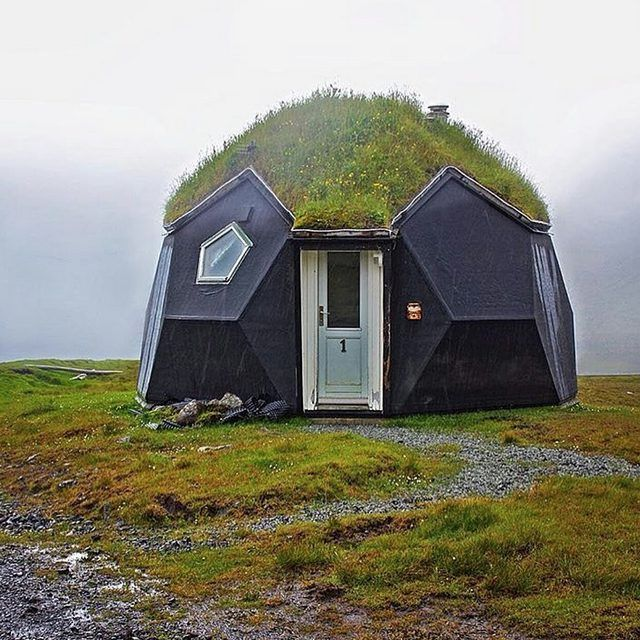 A geodesic, eco-friendly cabin. We're diggin' it. What do you think?  Photo: @theculturemap