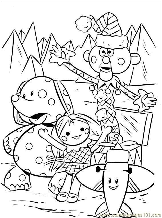Rudolph Coloring Pages Free printable Cartoon and Free