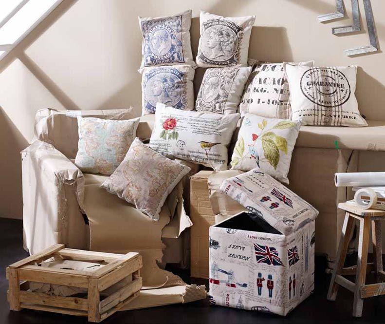 cojines tapizados modelo cuadrantes decoracin beltrn ideas originales para decorar tu hogar