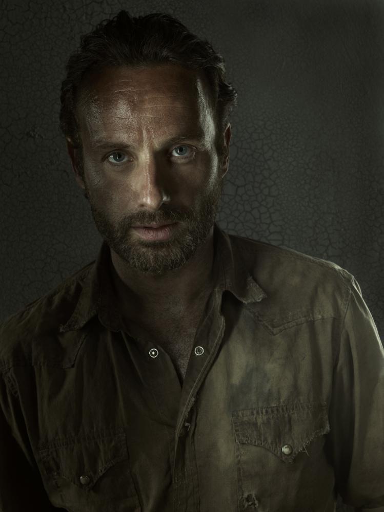 character portraits for The Walking DeadSeason 3.