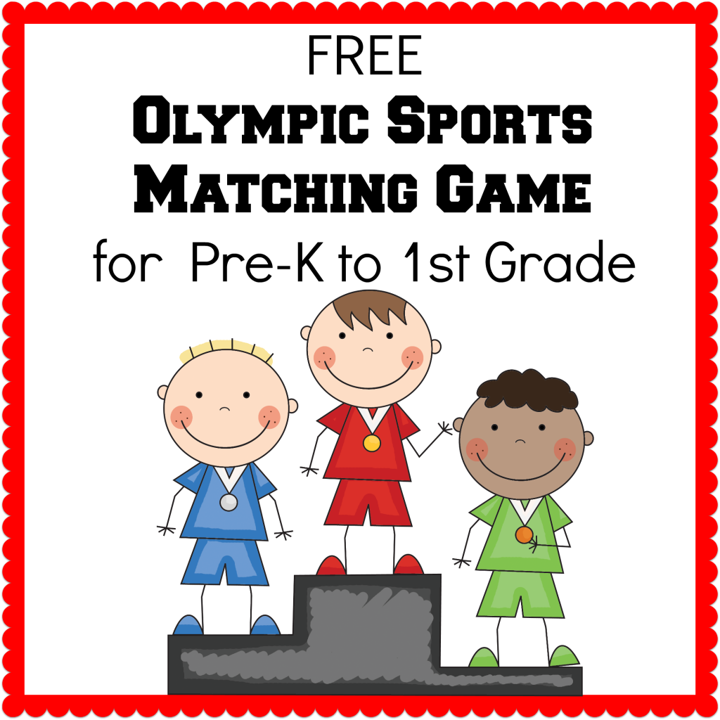 Sports Worksheets For Preschoolers