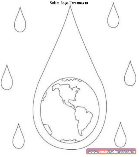 Sulari Bosa Harcama Once Okul Oncesi Ekibi Forum Sitesi Biz Bu Isi Biliyoruz Boyama Sayfalari Su Faaliyetler
