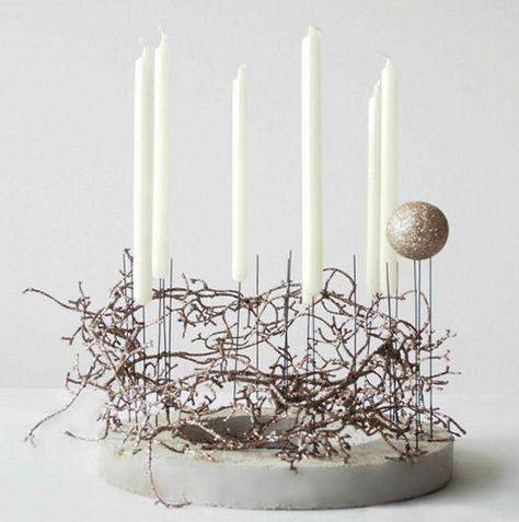 Photo of Crafts with concrete for Christmas