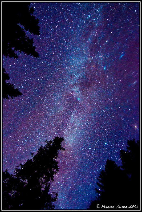 Zenith by Marco Vanzo, via 500px | Galaxia | Pinterest | Cielo ...