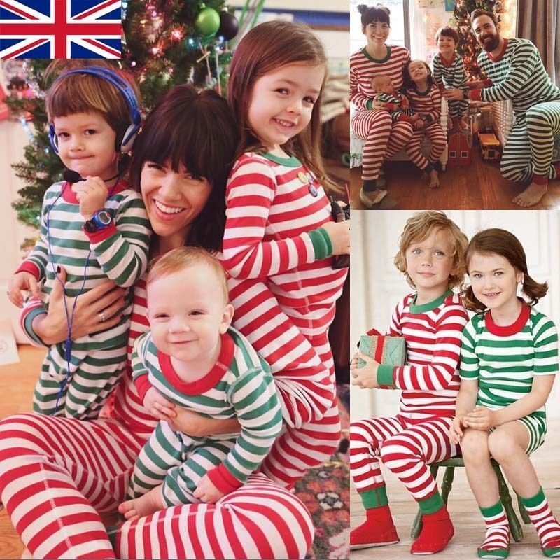 New Children Adult Family Matching Christmas Pajamas