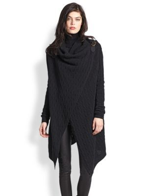 good texture new design best price Polo Ralph Lauren - Wool & Cashmere Wrap Sweater   Style + ...