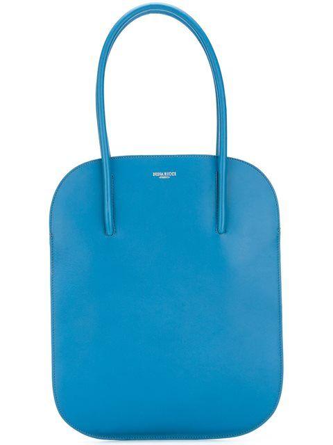 NINA RICCI flat tote. #ninaricci #bags #leather #hand bags #tote #