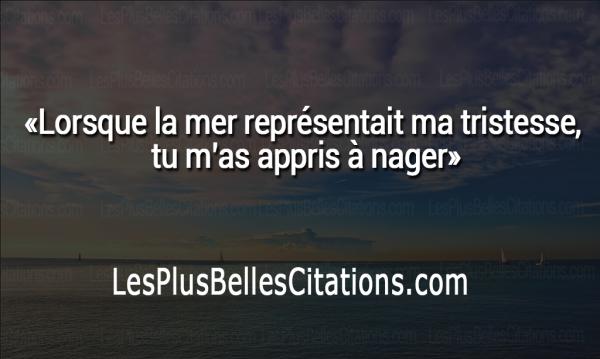 Citation La Mer Representait Ma Tristesse Les Plus Belles