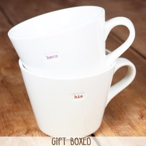 New Keith Brymer Jones Fairy Godmother Purple /& White Porcelain Gift Mug For Her