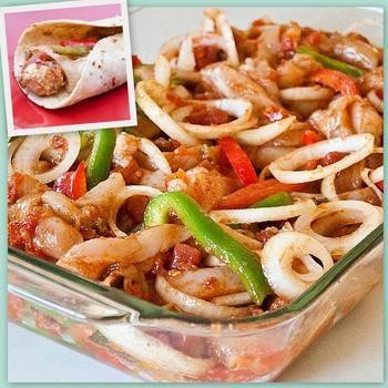 Oven Baked Fajitas Recipe - My Fridge Food & ZipList
