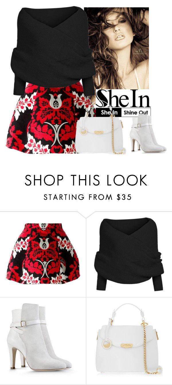 """Sweater"" by aida-1999 ❤ liked on Polyvore featuring XOXO, Dsquared2, Alberta Ferretti and Versace"