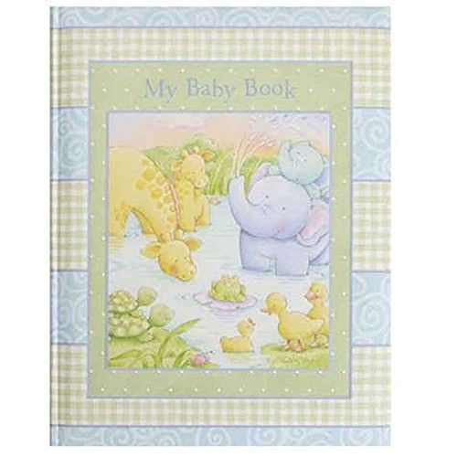 Stepping Stones Little Pond Baby Memory Book - Baby Animals