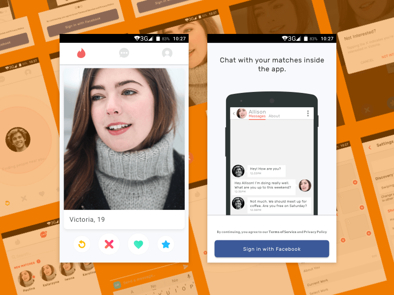 Dating εφαρμογές Android tinder