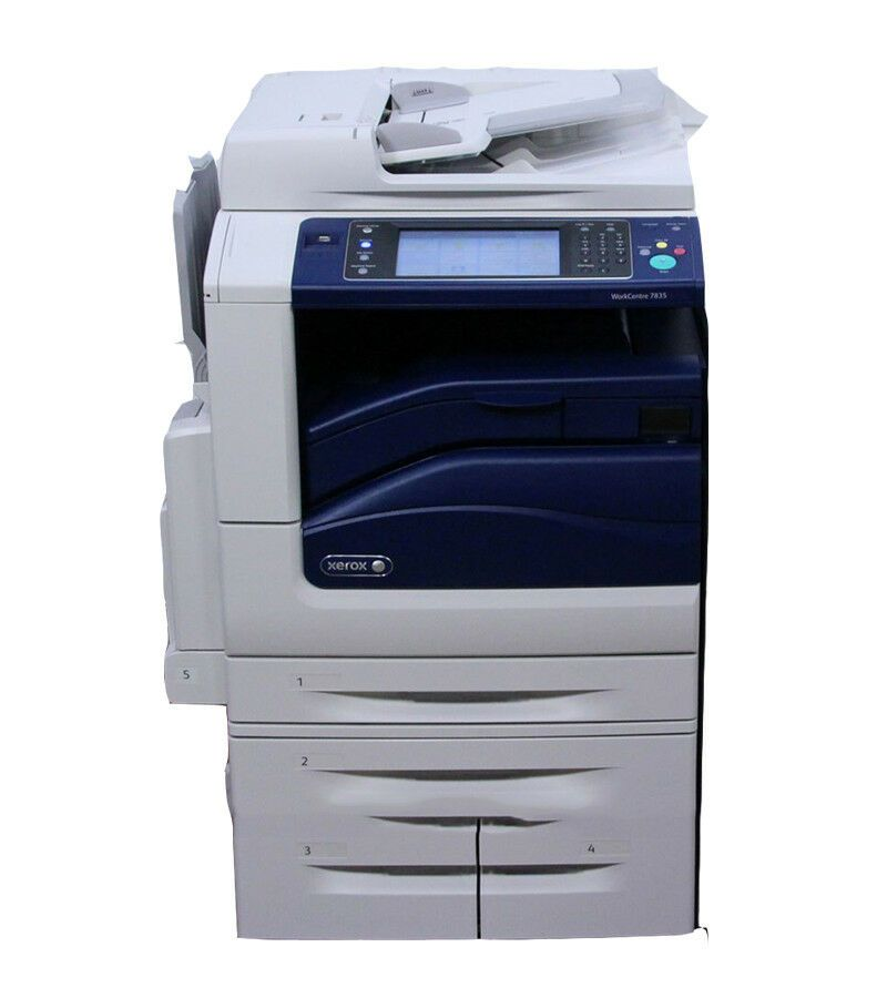Xerox Workcentre 7835 Color Multifunction Copier Printer Xerox