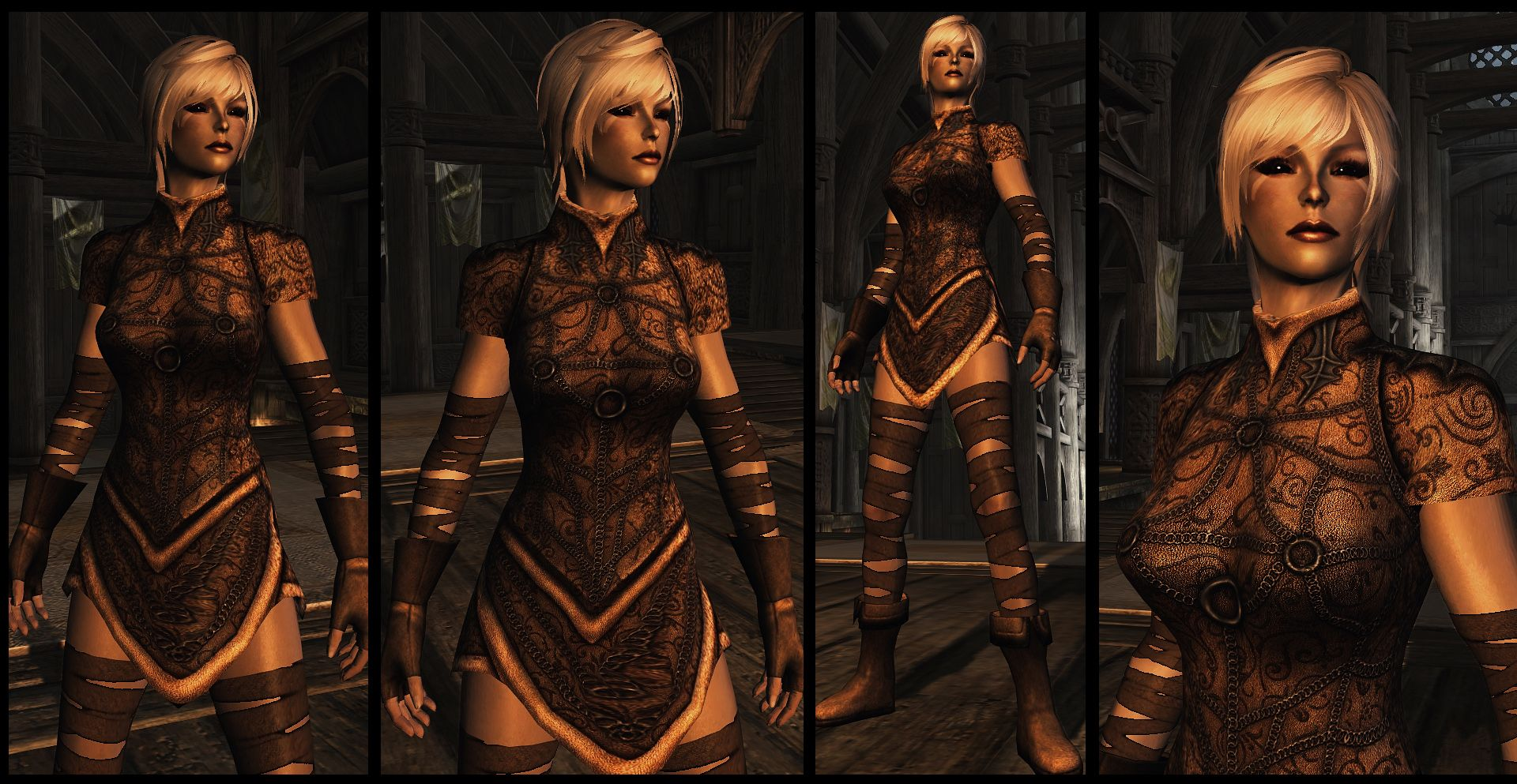 Light Elven Armor - UNP at Skyrim Nexus - mods and community
